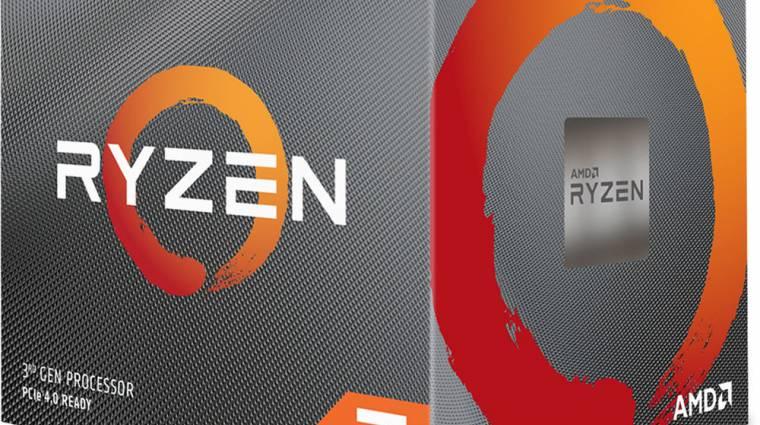 5,9 GHz-re húzták az AMD Ryzen 7 3800X-et kép
