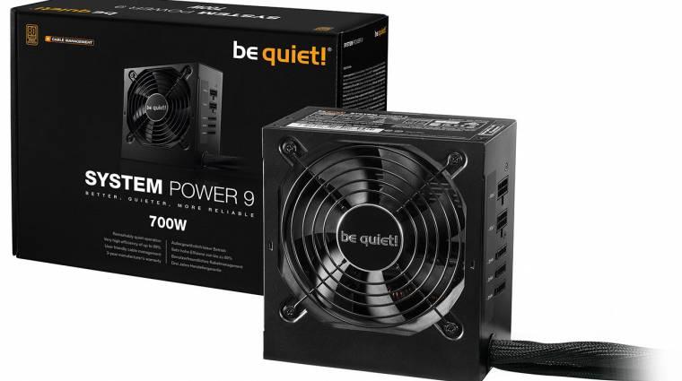 Itt a be quiet! System Power 9 CM tápcsalád kép