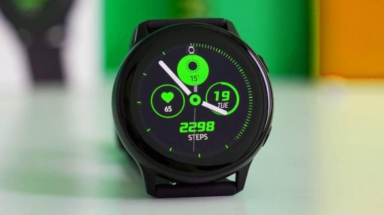 Szinte minden kiszivárgott a Samsung Galaxy Watch Active 2-ről kép