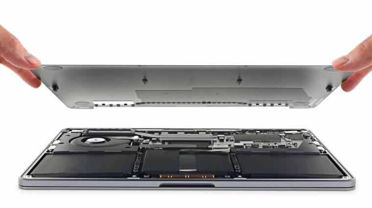 Kemény meló javítani az új, 13 hüvelykes MacBook Pro laptopot kép