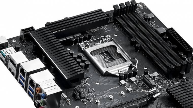 Xeon E processzorokat is támogat az ASUS WS C246-ACE alaplapja kép