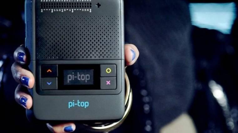 Hordozható és moduláris mini PC lett a pi-top [4] kép