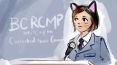 Véletlenül macskafüllel közvetítettek egy rendőrségi bejelentést kép