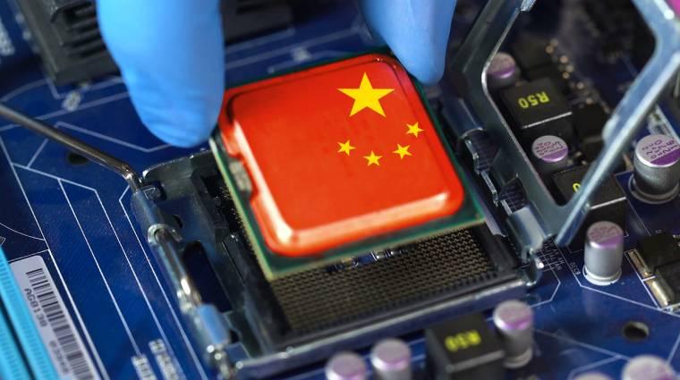 Függetlenedne Amerikától a kínai chipgyártás kép