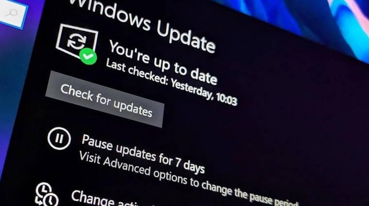 A következő Windows frissítést észre se veszed majd kép