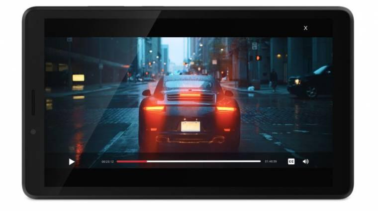 Olcsón szórakoztatnák a családot a Lenovo új androidos táblagépei kép