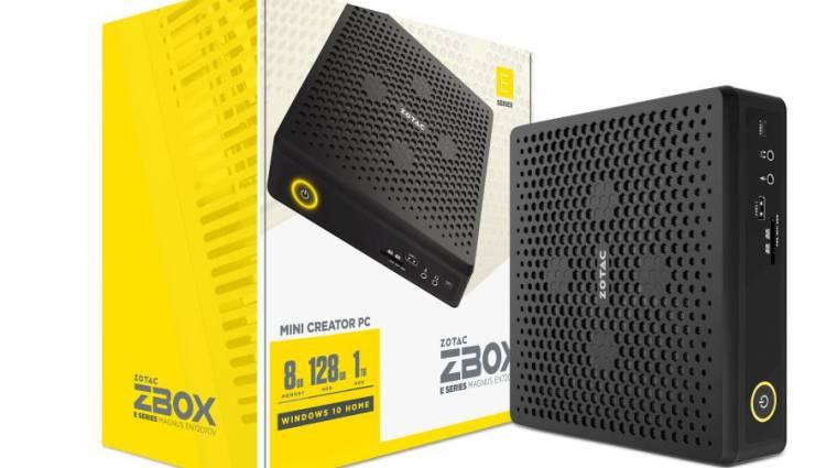 GeForce RTX grafikát kínálnak a Zotac Magnus mini PC-k kép