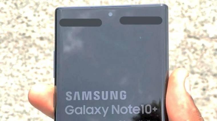 Élőképen a Samsung Galaxy Note 10+ kép