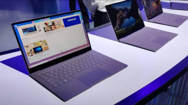 Döbbenetes üzemidőt hozott a windowsos Samsung Galaxy Book S laptop kép