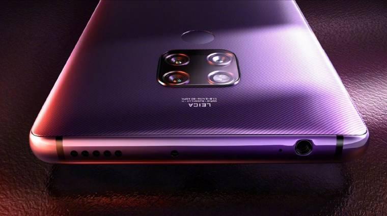 Ez lesz az első Huawei mobil, ami már HarmonyOS rendszerrel érkezik kép