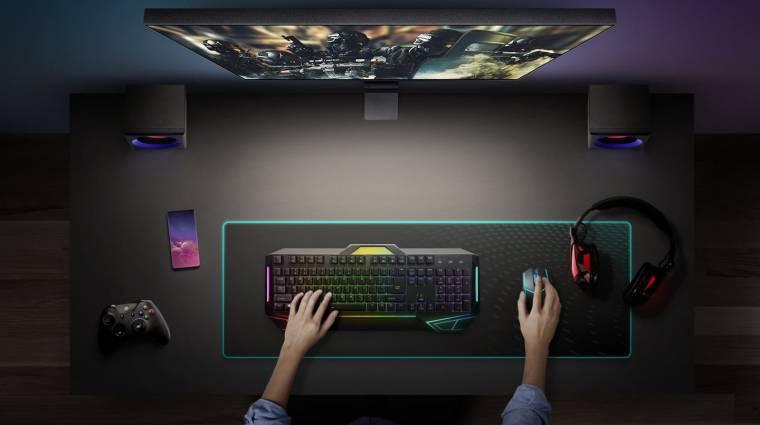 Játékosoknak tervezte a Samsung a Space Gaming Monitort kép