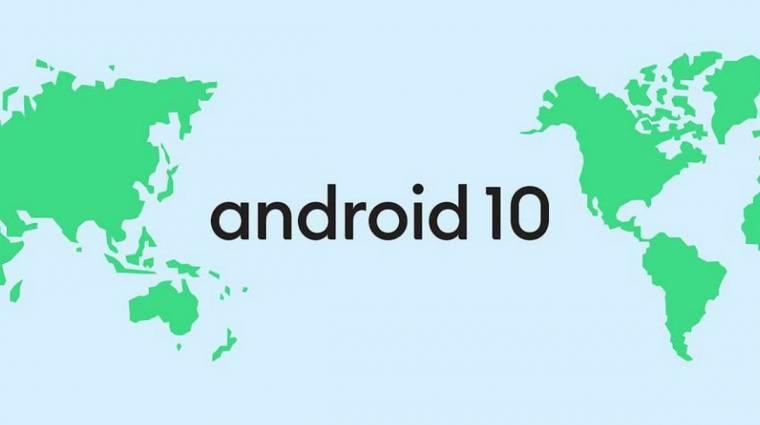 Android 10 lett az Android Q-ból, vége a desszerteknek kép