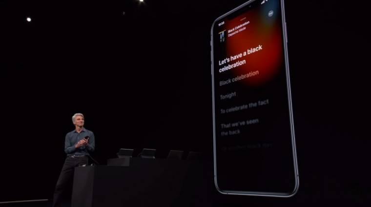 Elsötétült az Apple Music kép