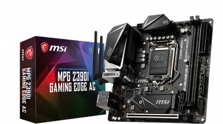 DDR4-es tuningrekordot döntött az MSI kép