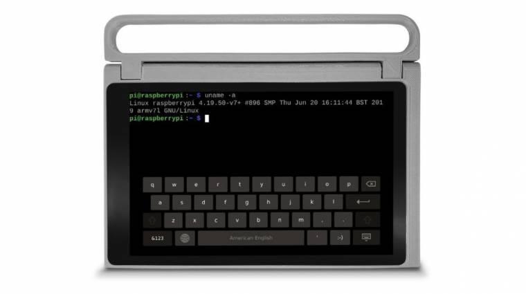 Ez a táblagép egy Raspberry Pi-re épít kép