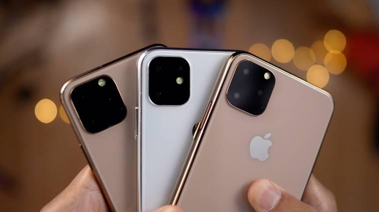 Kiderült, hogy milyen újdonságokat hoznak az iPhone 11 okostelefonok kép