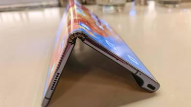 Novemberben jön az összehajtható Huawei mobil