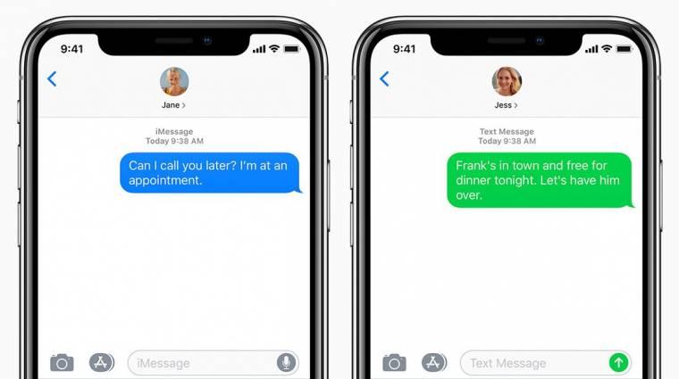 Egyetlen üzenettel feltörhetőek az iPhone-ok kép