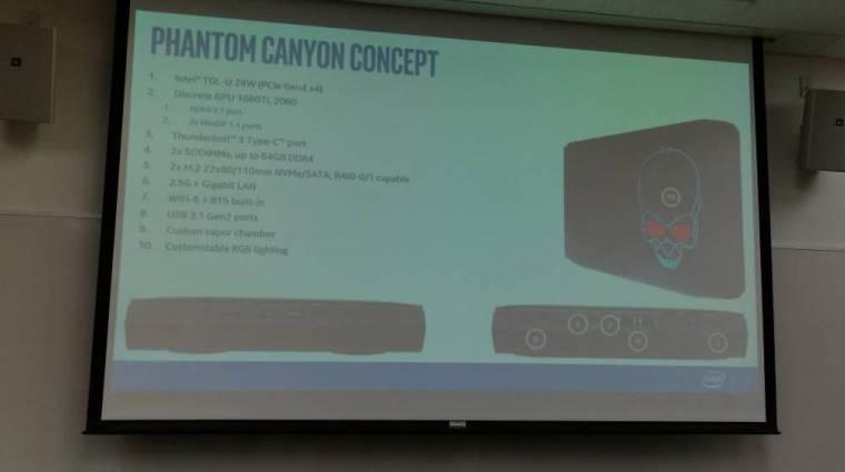 Kiderült, hogy milyen lesz az Intel Phantom Canyon NUC kép