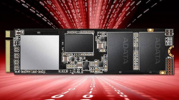 Itt a 2 TB-os ADATA XPG SX8200 Pro NVMe SSD kép
