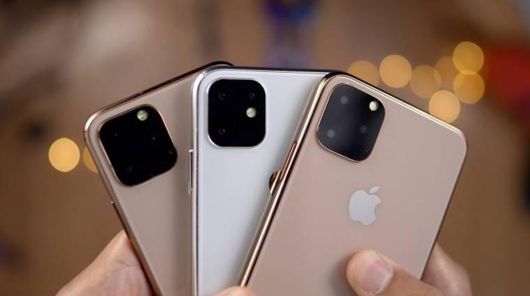 Szeptember 10-én jön az iPhone 11 Pro Max kép