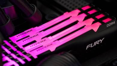 Végre RGB-s kiadásban is van HyperX Fury DDR4 RAM