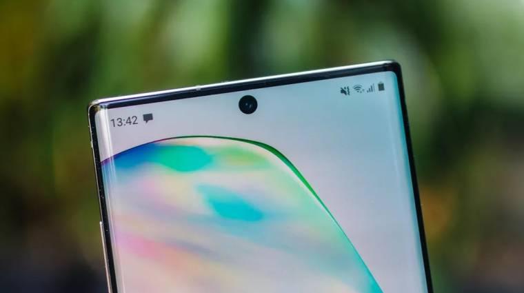 A DisplayMate szerint is fantasztikus a Galaxy Note 10+ kijelzője kép