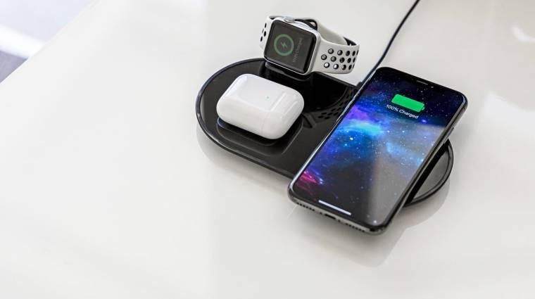 Tönkreteheti a vezeték nélküli töltés az okostelefonok akkumulátorát kép