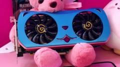Itt a világ legcukibb Radeon RX 580-as videokártyája kép