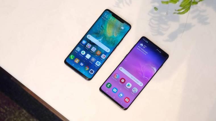 A Samsung maradt a mobilpiac királya kép