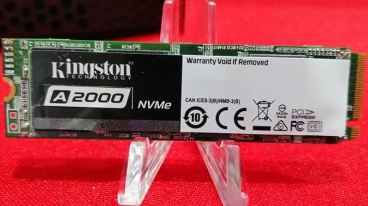 Elképesztően ártakarékos a Kingston új NVMe SSD-je kép