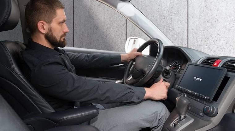 A buta autókat is felokosítja a Sony kép