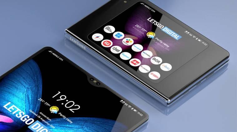 Vízszintesen lehetne összehajtani a Samsung Galaxy Fold 2-t kép