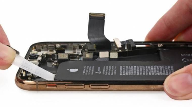 Megnehezíti az iPhone-ok akkucseréjét az Apple kép