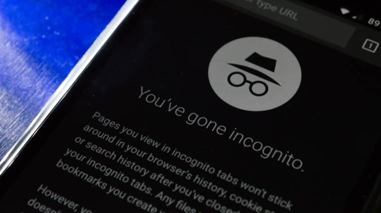 Megkerülik a weboldalak a Google Chrome inkognitómódját kép