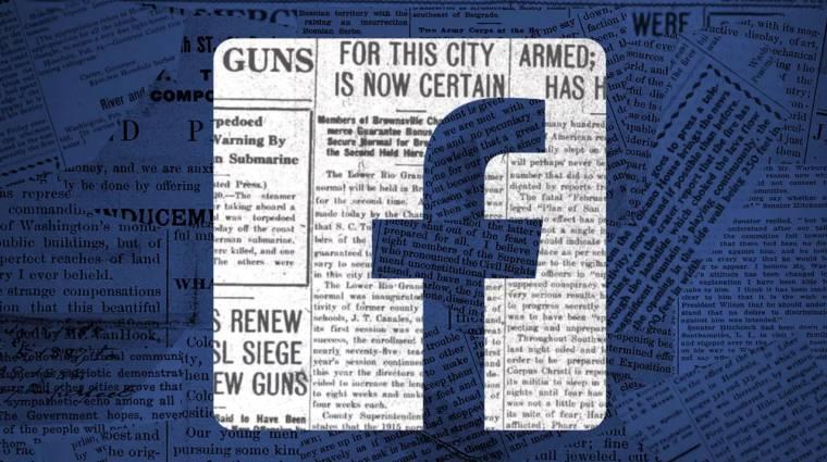 Ősszel hírlapok költöznek a Facebookba kép