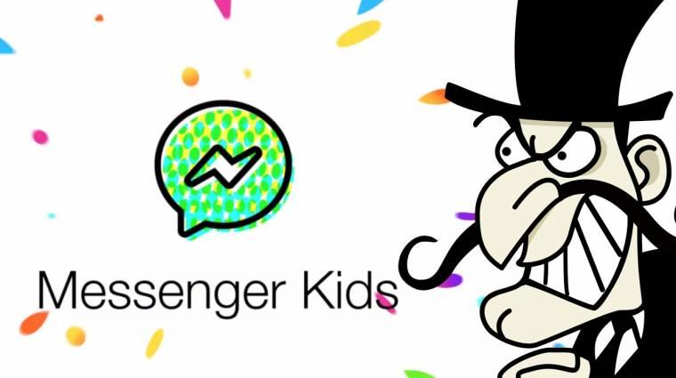 Zuckerberg ismét bajban: veszélyes volt a gyerek-Messenger kép