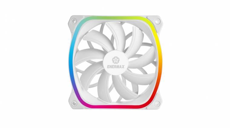Fehér és RGB-s az Enermax új hűtővetilátora kép