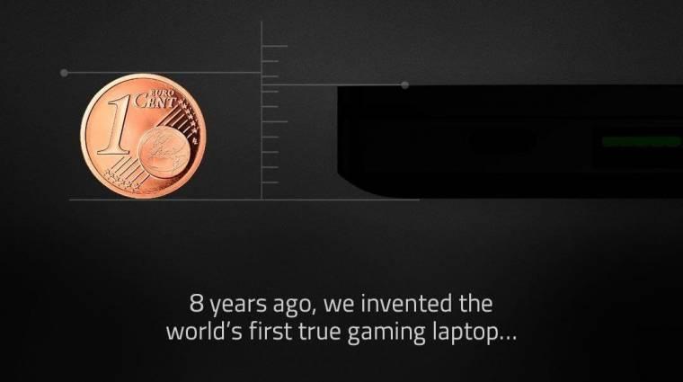 A Razer már megint világelső Blade laptopot emleget kép
