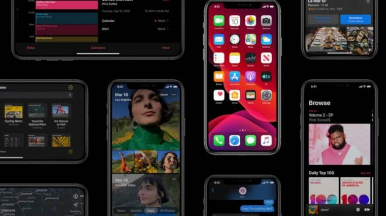 Megérkezett, és vitatott funkcióval újít az iOS 13.1 kép