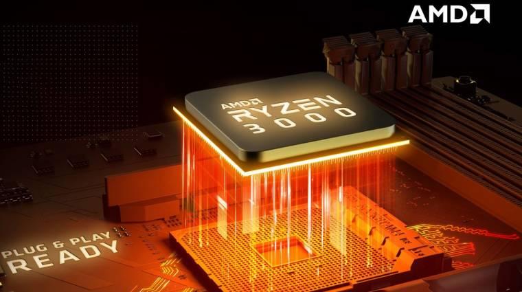 Felpörgették az AMD eladásait az AMD Ryzen 3000 processzorok kép