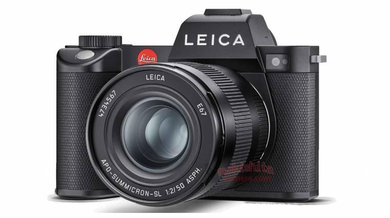 Kiszivárgott képeken a full frame tükör nélküli Leica SL2 fényképező kép