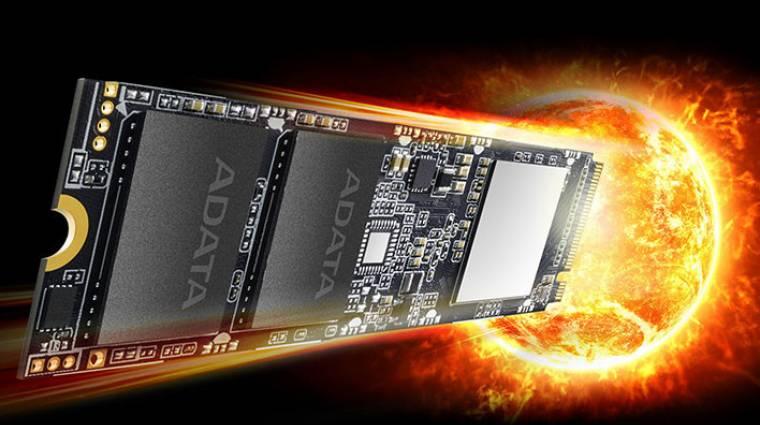 Villámgyors lett az ADATA új M.2-es SSD-je kép