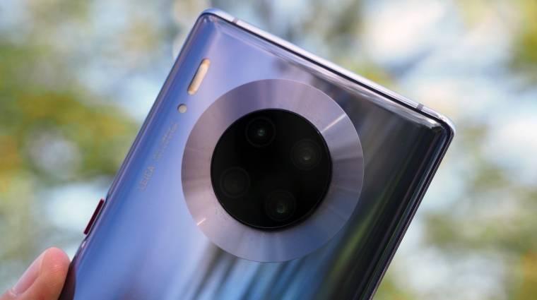 DxOMark: mindent félresöpört a Huawei Mate 30 Pro kép
