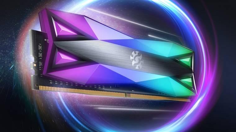 Szinte már vakít az ADATA SPECTRIX D60G DDR4 memóriája kép