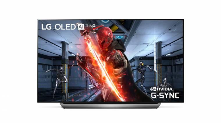 G-Sync-képes OLED-tévéket villantott az LG kép