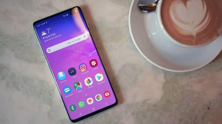 Ezek a Samsung okostelefonok kapják meg az Android 10-et kép