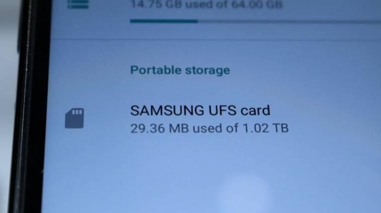Az UFS-kártyák agyonverik a microSD-ket kép