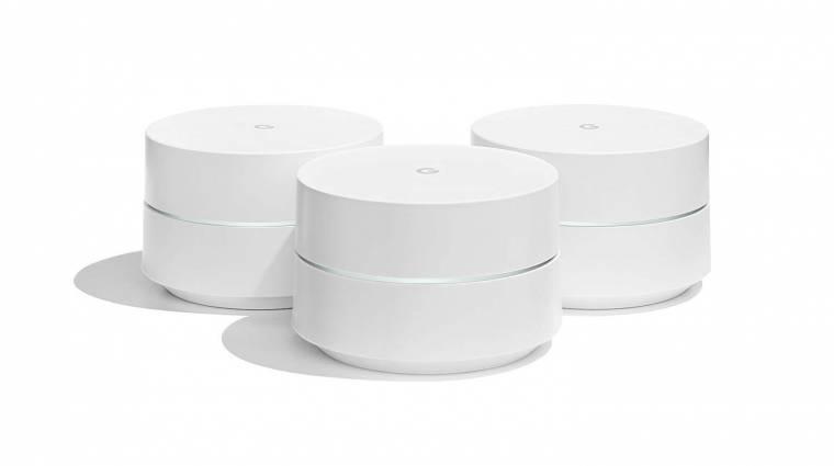 Okoshangszórónak is jó lesz a Google Nest WiFi mesh router kép