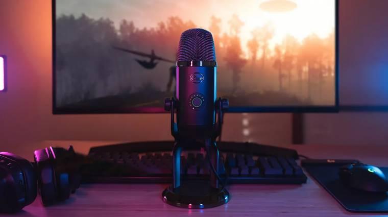 Jön a streamerek álma, ügyesen újít a Blue Yeti X mikrofon kép